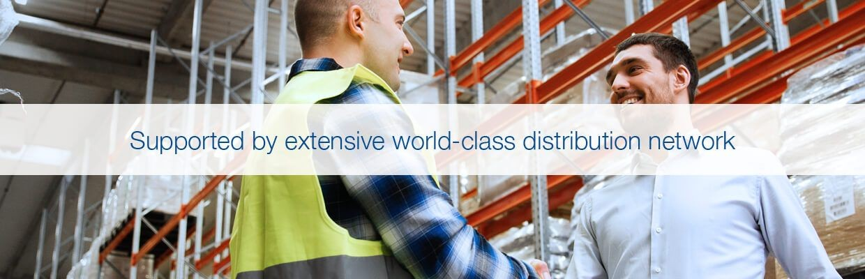 World-Class Distribution Network