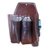 5 POCKET DOUBLE BACK HOLSTER-BROWN