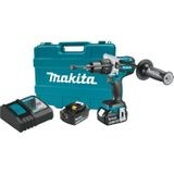 "18V LXT Lithium‑Ion Brushless Cordless 1/2"" Hammer Driver‑Drill Kit (5.0Ah)"