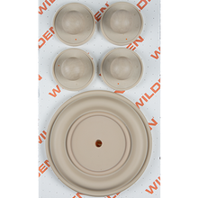 "Wilden Wet Repair Kit, 1.5"" Bolted Metal, Santoprene"
