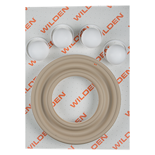 "Wilden Wet Repair Kit, 3"" Bolted Metal, PTFE"