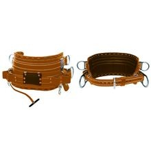 2100M BROWN BODY BELTS