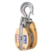 WOOD SNATCH BLOCKS FOR FIBER ROPE