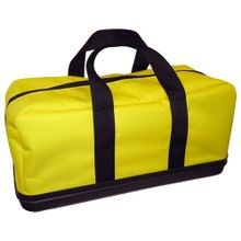 YELLOW VINYL GEAR BAG