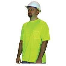 LIME GREEN HIGH VISIBILITY T-SHIRTS
