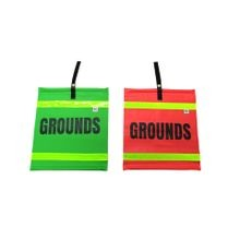 HI-VISIBILITY GROUNDS FLAGS