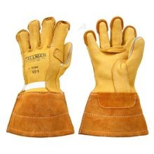 LINEMAN'S BUCKSKIN WORK GLOVES