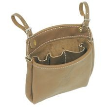 LEATHER NUT BAGS WITH INSIDE POCKETS