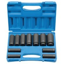 8 POINT DEEP IMPACT SOCKET SET - 11 PIECE