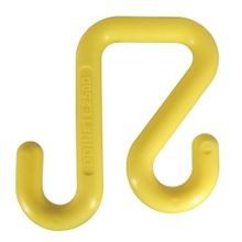 YELLOW NYLON, POLYMER BUCKET HOOKS