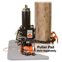 HYDRAULIC POLE PULLER WITH COUPLERS
