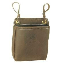 LEATHER NUT BAGS