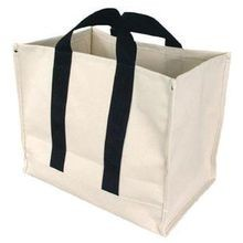 OVERSIZED CANVAS UTILITY BAGS