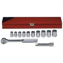 12 Piece: 12-Point Standard Socket Set
