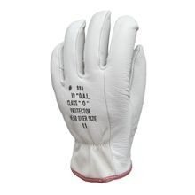 LEATHER PROTECTORS FOR RUBBER GLOVES