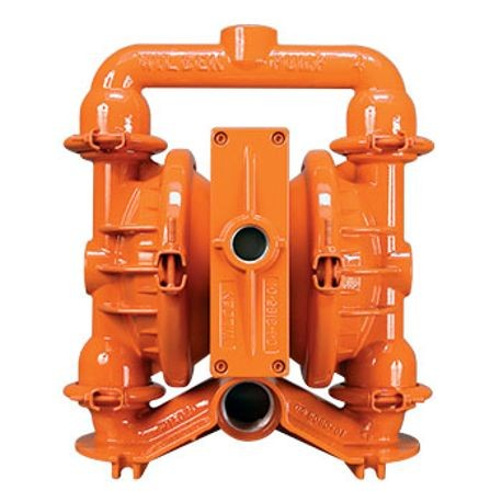 "Wilden AODD Pump, 1.5"" Pro-Flo, Clamped Ductile Iron,NPT w/PTFE"