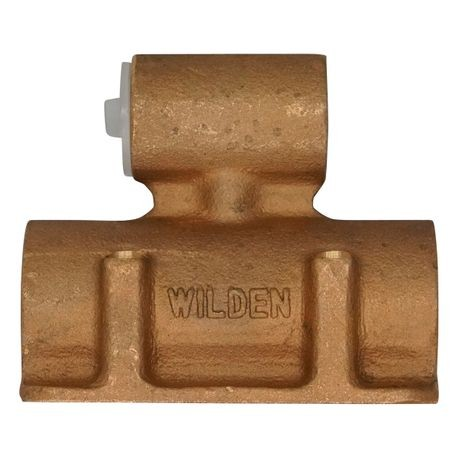 "Wilden Air Valve Assembly used in 0.5"" Pumps, Brass"