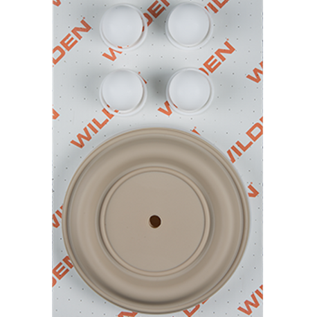 "Wilden Wet Repair Kit, 1.5"" Bolted Metal, PTFE"