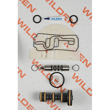 "Wilden Air Repair Kit, Pro-Flo 1.5""-2"" Metal/Plastic, Clamped/Bolted"
