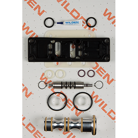 "Wilden Air Repair Kit, Pro-Flo Shift 1.5""-2"" Plastic, Bolted"