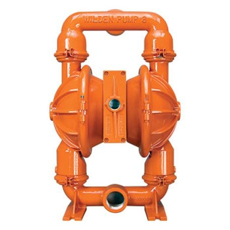 "Wilden AODD Pump, 2"" Pro-Flo, Clamped Ductile Iron, NPT w/PTFE"