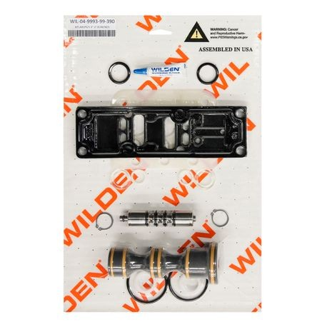"Wilden Air Repair Kit, Pro-Flo Shift 3""-4"" Metal Clamped/Bolted"