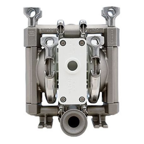"Wilden AODD Pump, 0.5"" Pro-Flo, Clamped Stainless Steel, Tri-Clamp w/Hytrel"