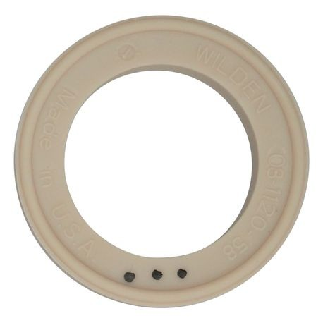 "Wilden Valve Seat used in 3"" Pumps, Food Grade Santoprene®"
