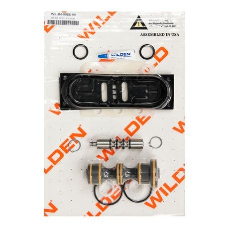 "Wilden Air Repair Kit, Pro-Flo X 1"" Metal/Plastic Clamped/Bolted"