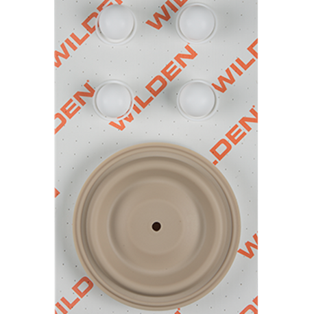 "Wilden Wet Repair Kit, 1.5"" Clamped Plastic, PTFE"