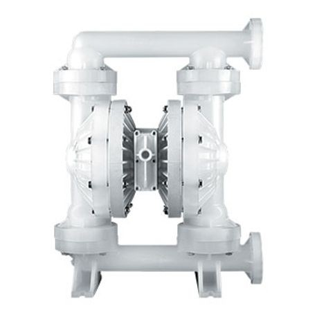 "Wilden AODD Pump, 2"" Pro-Flo Shift, Bolted Polypropylene, ANSI w/PTFE"