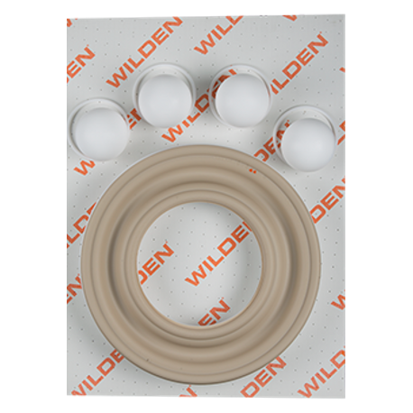 "Wilden Wet Repair Kit, 3"" Clamped Metal, PTFE"