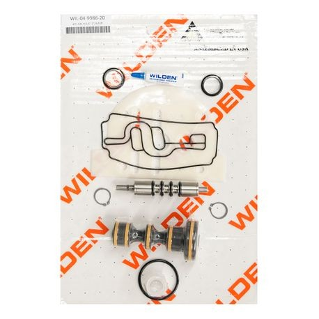 "Wilden Air Repair Kit, Pro-Flo 1.5""-2"" Plastic Bolted"