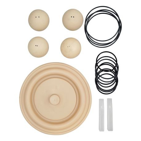 "Wilden Wet Repair Kit, 3"" Bolted Plastic, Food Grade Santoprene®"
