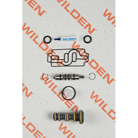 "Wilden Air Repair Kit, Pro-Flo 1"" Metal/Plastic, Clamped/Bolted"