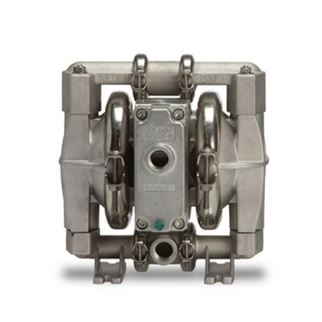 "Wilden AODD Pump, 0.5"" Pro-Flo Shift, Clamped Stainless Steel, NPT, w/ Buna"