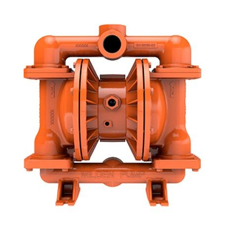 "Wilden AODD Pump, 1.5"" Pro-Flo, Bolted Ductile Iron, Threaded, w/ FKM"