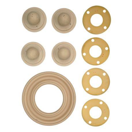 "Wilden Wet Repair Kit, 3"" Bolted Metal, Santoprene®"