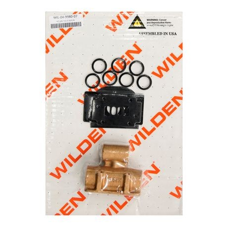 "Wilden Air Repair Kit, Turbo 0.5"" Metal Clamped"