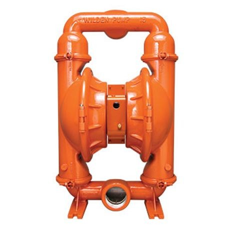 "Wilden AODD Pump, 3"" Pro-Flo Shift, Clamped Ductile Iron, NPT w/Hytrel"
