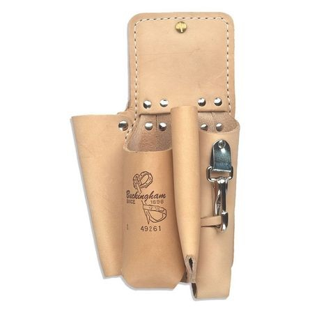 4 POCKET DOUBLE BACK HOLSTER-BROWN