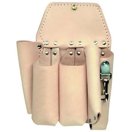 5 POCKET DOUBLE BACK HOLSTER-TAN