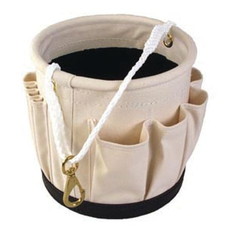 "12"" X 12"" BLACKWRAP MULTI-POCKET TOOL BUCKET"