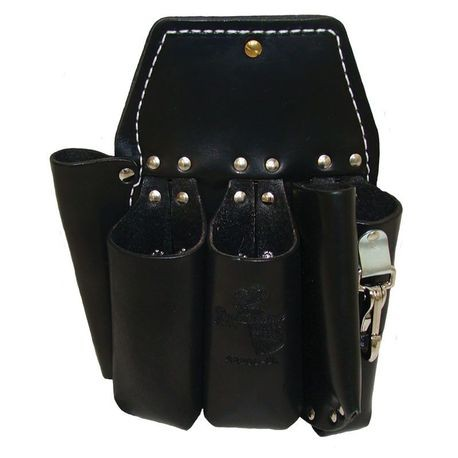 5 POCKET DOUBLE BACK HOLSTER-BLACK