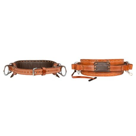 2000EM BROWN 4 D-RING BODY BELTS