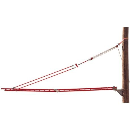 2 RAIL SPLICED LADDERS
