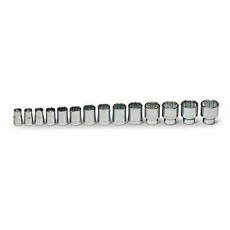 14 Piece: 12-Point Standard Socket Set