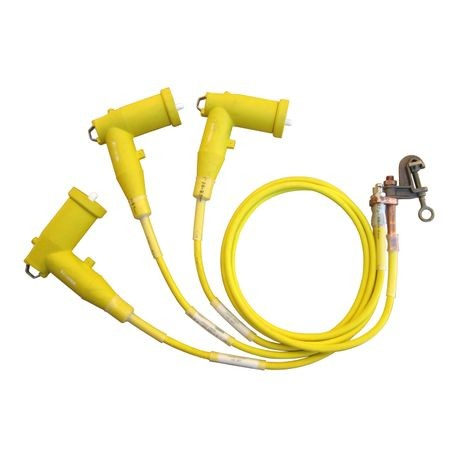15KV 3-PHASE ELBOW GROUNDING SET