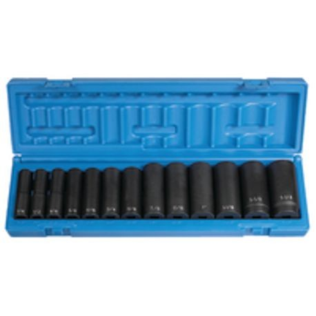12 POINT DEEP IMPACT SOCKET SET - 19 PIECE
